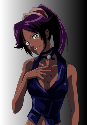 Yoruichi  Beauty Itself By Mifang-d3ypvbo